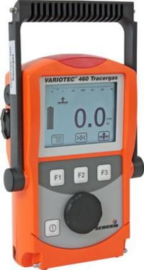 Variotec 460 tracer gas used to find